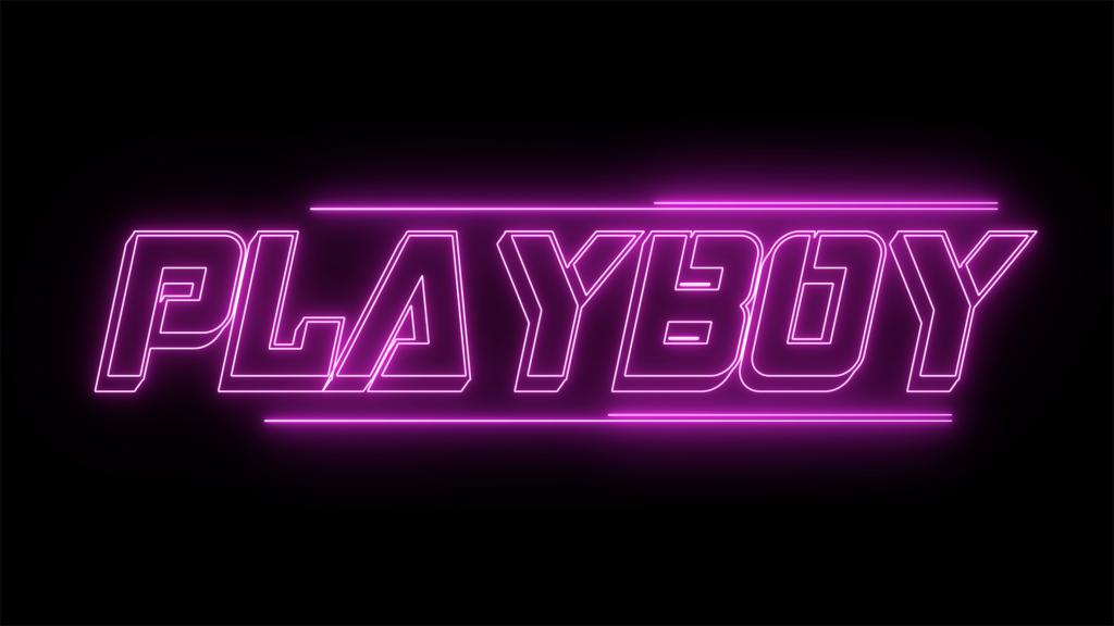 PLAYBOY short film drugs neon titles superpowers