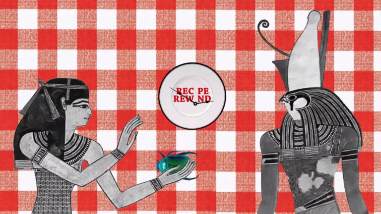 Recipe Rewind animation food history documentary Tv series
