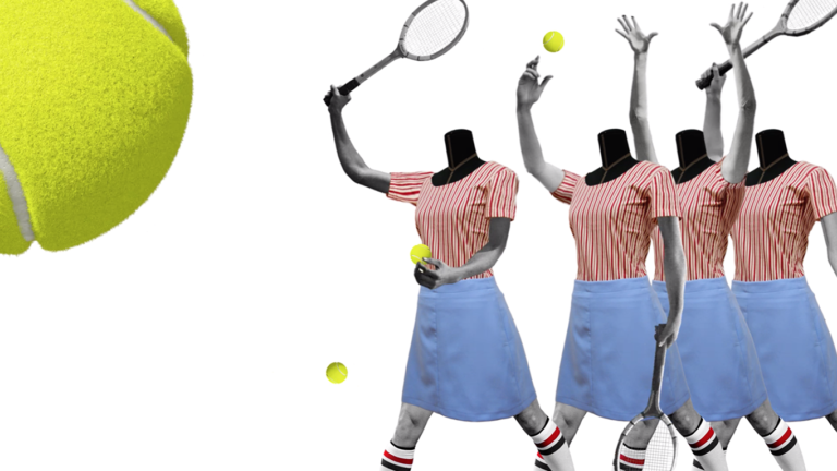 gif animation collage tennis