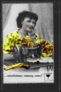 postcard custombydog fashion restyling collage revolver revelations