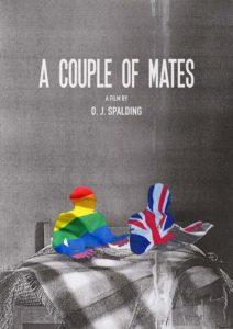Oliver Spalding A Couple of Mates Poster short film LGBT LGBTQI