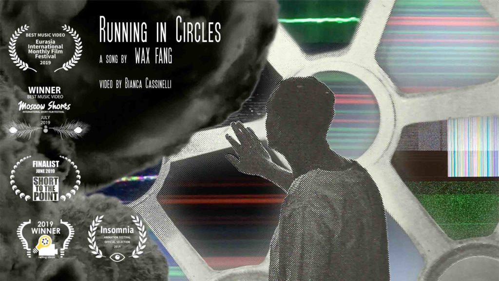 Wax Fang Running in Circles Repetition band music video album animation