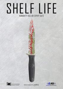 Shelf Life film poster dagger AI